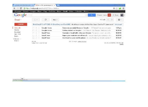 Gmail default view 1